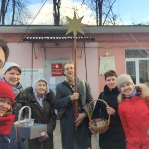 Поздравление маленьких пациентов Морозовской больницы с Рождеством Христовым