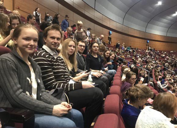 Молодёжный клуб «Благовест» побывал на Рождественской Оратории